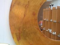 modern round frame