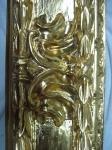 the gold-burnishing with agata stone