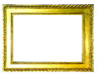 cassetta frame with carved leafs, Emilia, 18th. cent., gold leaf, red bole