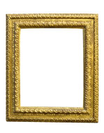 rich carved cassetta frame, Tuscany, 16th cent. gold leaf, brown bole, rif.: REPERTORIO DELLA CORN…nr.59, private collection