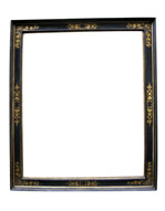 cassetta frame with sgrafitto decoration, Italy,17th cent.